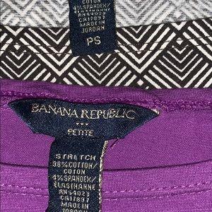 Banana Republic Tops - 2 Banana Republic Shirts Size PS